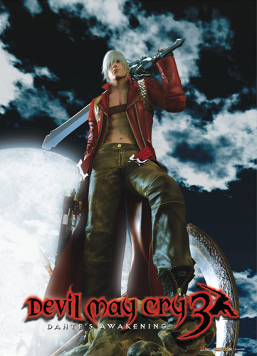 Devil May Cry Key Art 3 Fabric Poster, an officially licensed Devil May Cry Poster