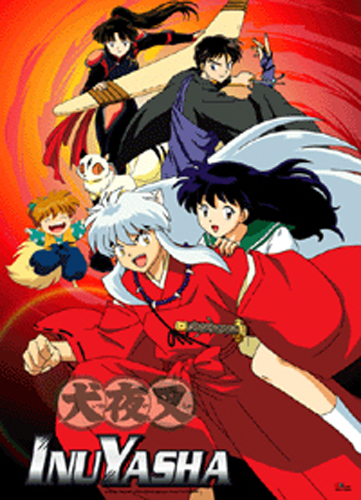 Inuyasha Inuyasha Heros Fabric Poster, an officially licensed product in our Inuyahsa Posters department.