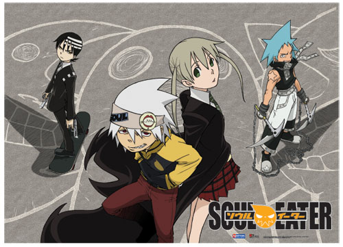 Soul Eater Play Groud Fabric Poster, an officially licensed product in our Soul Eater Posters department.