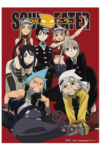 Soul Eater Soul Eater Fabric Poster, an officially licensed product in our Soul Eater Posters department.