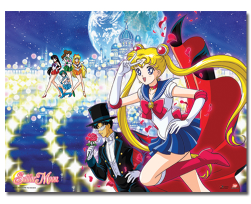 Sailor Moon - Moon Palace Group Fabric Poster, an officially licensed product in our Sailor Moon Posters department.