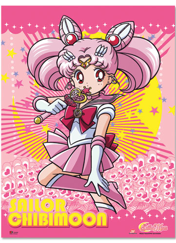 Sailormoon S Sailor Chibimoon Fabric Poster, an officially licensed product in our Sailor Moon Posters department.