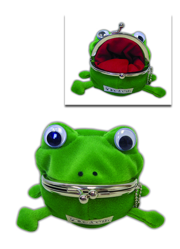 Naruto Frog Coin Purse officially licensed product at B.A. Toys.