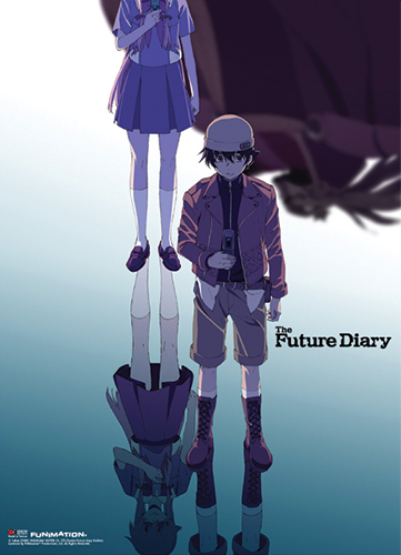 Future Diary - Keyart Fabric Poster, an officially licensed product in our Future Diary Posters department.