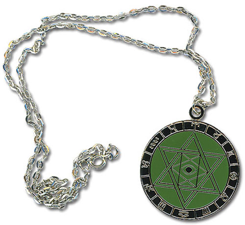 Negima Hexagram Necklace, an officially licensed product in our Negima Jewelry department.