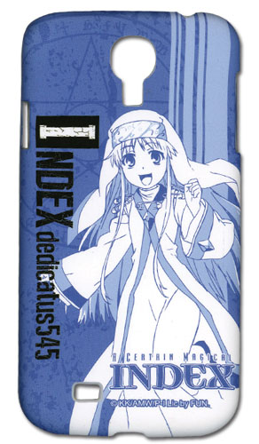 A Certain Magical Index - Index Samsung S4 Phone Case officially licensed product at B.A. Toys.