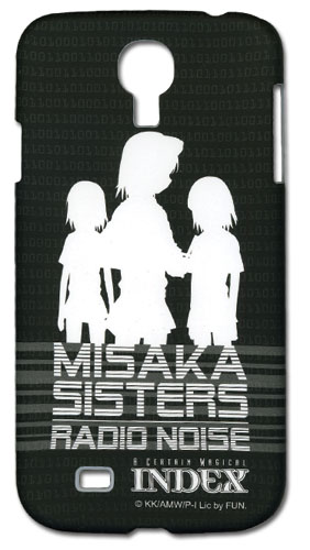 A Certain Magical Index - Misaka Sisters Samsung S4 Phone Case, an officially licensed A Certain Magical Index Cell Phone Accessory