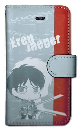 Attack On Titan - Eren Sd Iphone 5 Case officially licensed product at B.A. Toys.