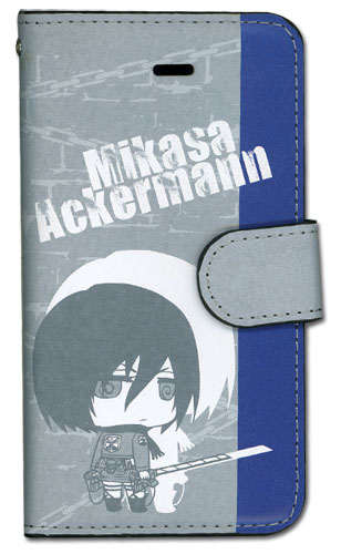 Attack On Titan - Mikasa Sd Iphone 5 Case, an officially licensed Attack On Titan product at B.A. Toys.