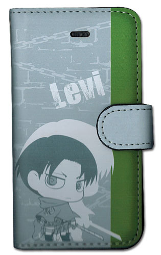 Attack On Titan - Levi Sd Iphone 5 Case, an officially licensed Attack On Titan product at B.A. Toys.