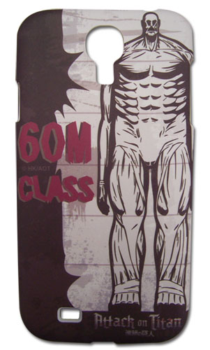 Attack On Titan - Titan Samsung S4 Case, an officially licensed product in our Attack On Titan Costumes & Accessories department.