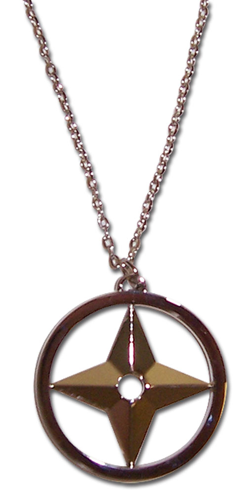 Naruto Throwing Star Necklace, an officially licensed product in our Naruto Jewelry department.