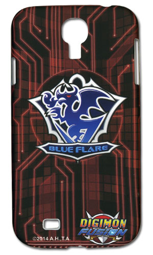 Digimon - Blue Flare Samsung S4 Case, an officially licensed Digimon Cell Phone Accessory