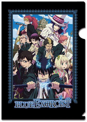 Blue Exorcist File Folder (5 Pcs Pack), an officially licensed Blue Exorcist Binder/ Folder