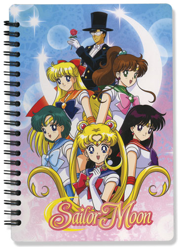 Sailormoon Girls Group Notebook, an officially licensed product in our Sailor Moon Stationery department.