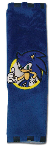 Sonic The Hedgehog Sonic Seat Belt Wrap, an officially licensed product in our Sonic Belts & Buckles department.