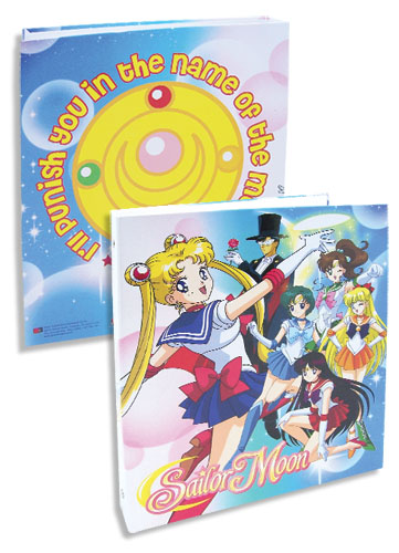Sailormoon Girls Group Binder, an officially licensed product in our Sailor Moon Binders & Folders department.