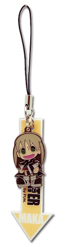 Soul Eater Maka Cell Phone Charm, an officially licensed Soul Eater Cell Phone Accessory