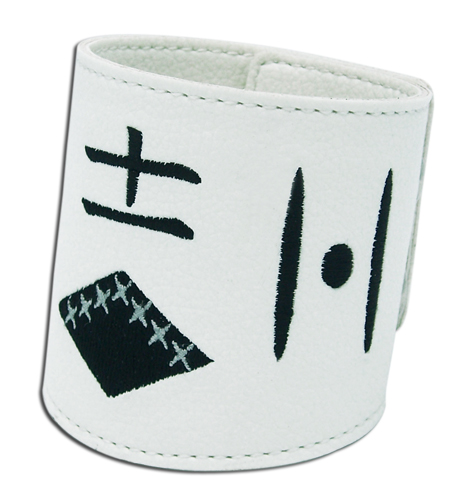 Bleach Group Eleven Leather Wristband, an officially licensed Bleach product at B.A. Toys.