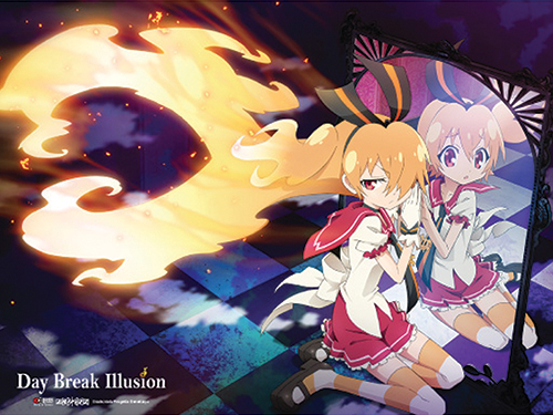 Day Break Illusion - Akari Key Visual Fabric Poster, an officially licensed product in our Day Break Illusion Posters department.