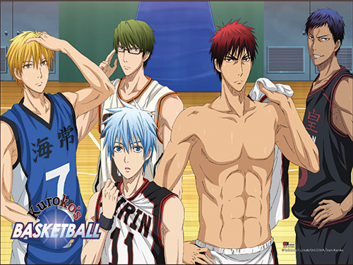 Kuroko's Basketball - Key Art 26 Paper Poster, an officially licensed product in our Kuroko'S Basketball Posters department.
