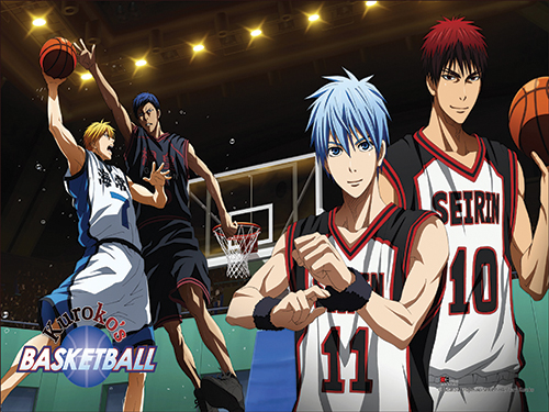 Kuroko's Basketball - Action Shot Paper Poster, an officially licensed product in our Kuroko'S Basketball Posters department.