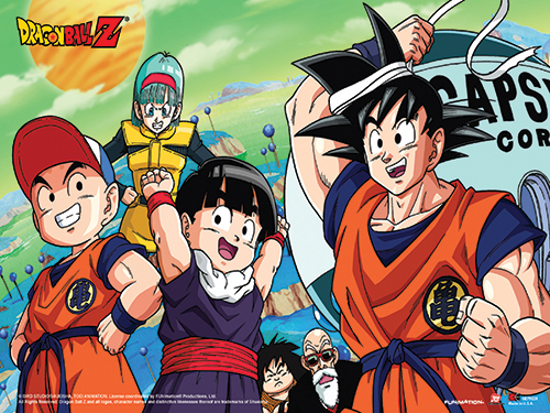 Dragon Ball Z - Goku & Friends Paper Poster, an officially licensed product in our Dragon Ball Z Posters department.