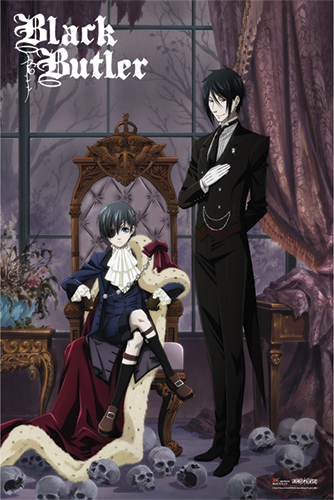 Black Butler - Key Visual Paper Poster, an officially licensed product in our Black Butler Posters department.