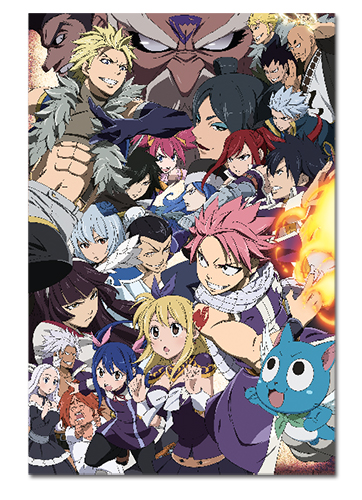 Fairy Tail - Season 6 Key Art Paper Poster, an officially licensed product in our Fairy Tail Posters department.