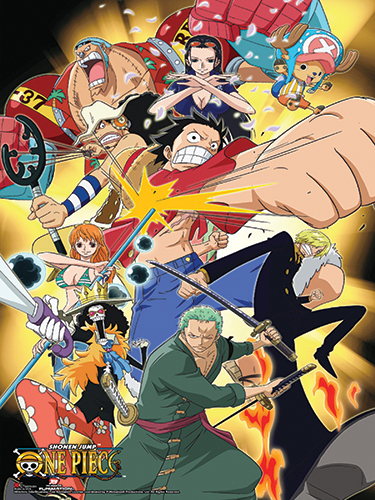 One Piece - Attack Group Paper Poster, an officially licensed product in our One Piece Posters department.