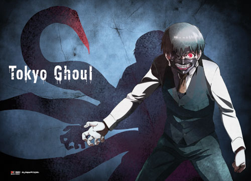 Tokyo Ghoul - Kaneki Kagune Fabric Poster, an officially licensed product in our Tokyo Ghoul Posters department.