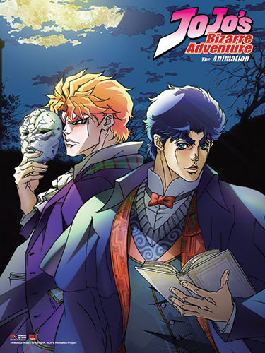 Jojo's Bizarre Adventure - Key Art 1 Fabric Poster, an officially licensed product in our Jojo'S Bizarre Adventure Posters department.