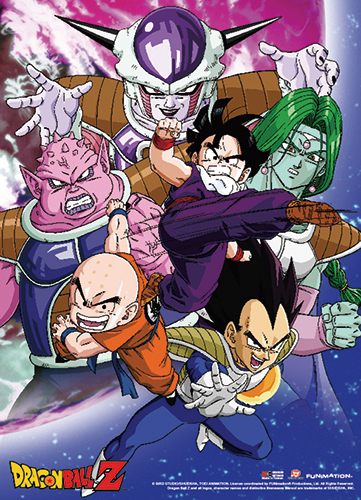 Dragon Ball Z - Gohan Vs Frieza Group Fabric Poster, an officially licensed product in our Dragon Ball Z Posters department.