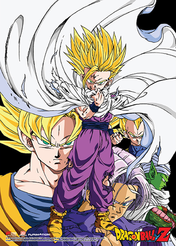 Dragon Ball Z - Gohan Group Fabric Poster, an officially licensed product in our Dragon Ball Z Posters department.