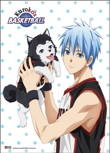 Kuroko's Basketball - Kuroko & Tetsuya #2 Fabric Poster, an officially licensed product in our Kuroko'S Basketball Posters department.