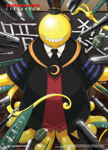 Assassination Classroom - Key Art 2 Fabric Poster, an officially licensed product in our Assassination Classroom Posters department.