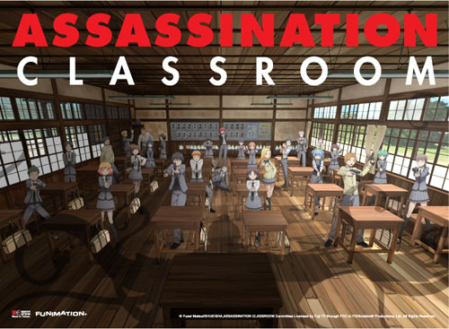 Assassination Classroom - Promo Art Fabric Poster, an officially licensed product in our Assassination Classroom Posters department.