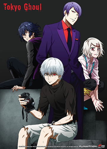 Tokyo Ghoul - Group 02 Fabric Poster, an officially licensed product in our Tokyo Ghoul Posters department.