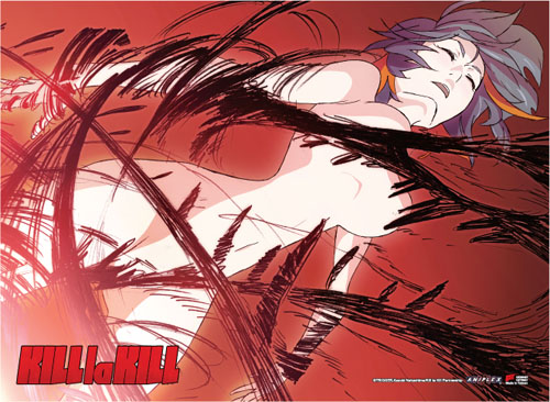 Kill La Kill - Nude Ryuko Fabric Poster, an officially licensed product in our Kill La Kill Posters department.