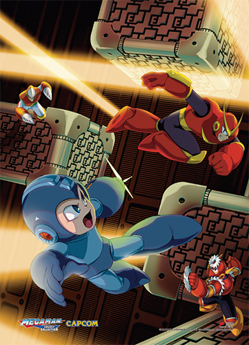 Megaman Classic - Group 03 Fabric Poster, an officially licensed product in our Mega Man Posters department.