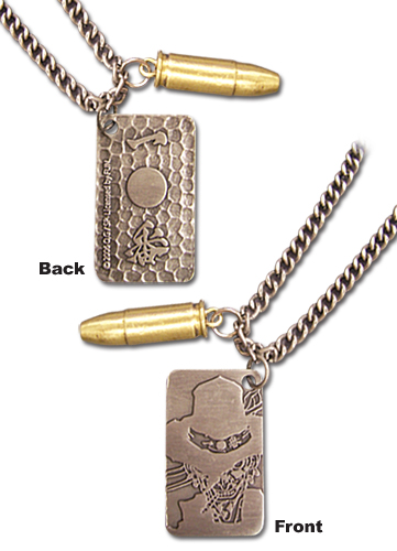 Afro Samurai Justice #1 Gunman Necklace, an officially licensed Afro Samurai product at B.A. Toys.