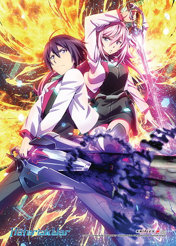 Asterisk War - Group 01 Fabric Poster, an officially licensed product in our Asterisk War Posters department.