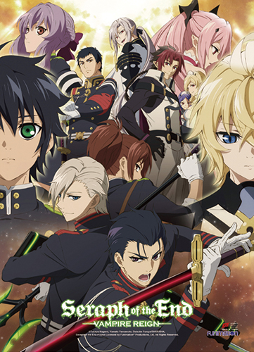 Seraph Of The End - Key Art 1 Fabric Poster, an officially licensed product in our Seraph Of The End Posters department.
