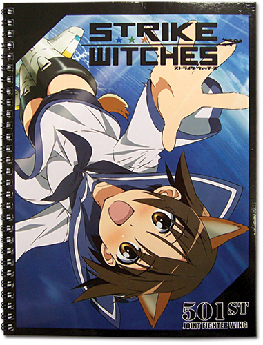 Strike Witches Group Spiral Notebook, an officially licensed product in our Strike Witches Stationery department.
