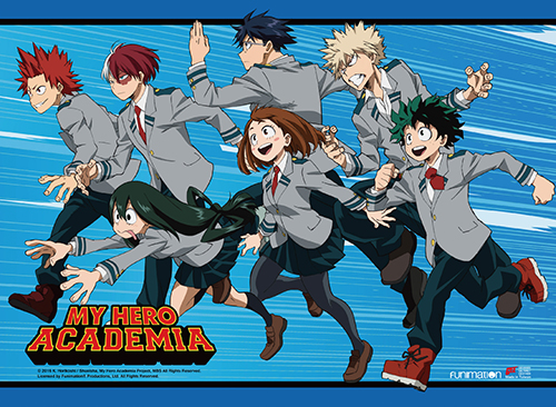 My Hero Academia - Key Art 2 Fabric Poster, an officially licensed product in our My Hero Academia Posters department.