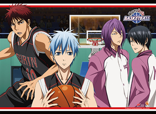 Kuroko's Basketball S2 - Group 2 Fabric Poster, an officially licensed product in our Kuroko'S Basketball Posters department.