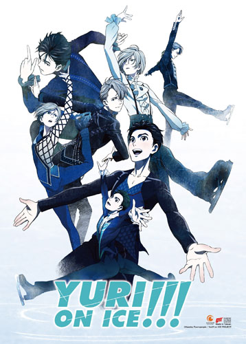 Yuri!!! On Ice - Key Art Fabric Poster, an officially licensed product in our Yuri!!! On Ice Posters department.