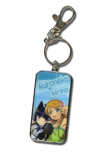 Oreimo Kirino And Kuroneko Keychain, an officially licensed product in our Oreimo Key Chains department.