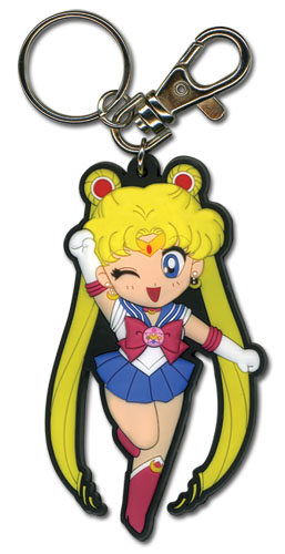 Sailormoon Sd Sailor Moon Pvc Keychain, an officially licensed product in our Sailor Moon Key Chains department.
