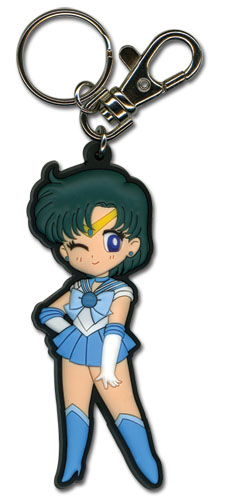 Sailormoon Sa Sailor Mercury Pvc Keychain, an officially licensed product in our Sailor Moon Key Chains department.